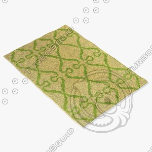 3d model chandra rugs lim-25737