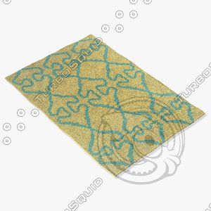 3d model chandra rugs lim-25738