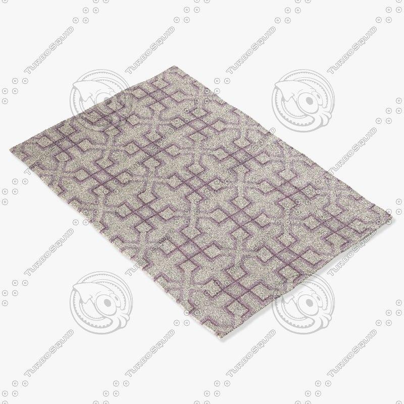 3d model chandra rugs lim-25741