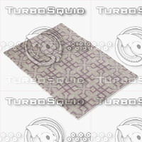 3d model chandra rugs lim-25741