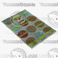 chandra rugs los-1807 3d model