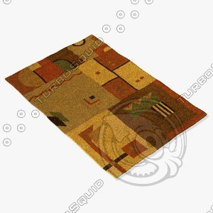 3d model chandra rugs met-509