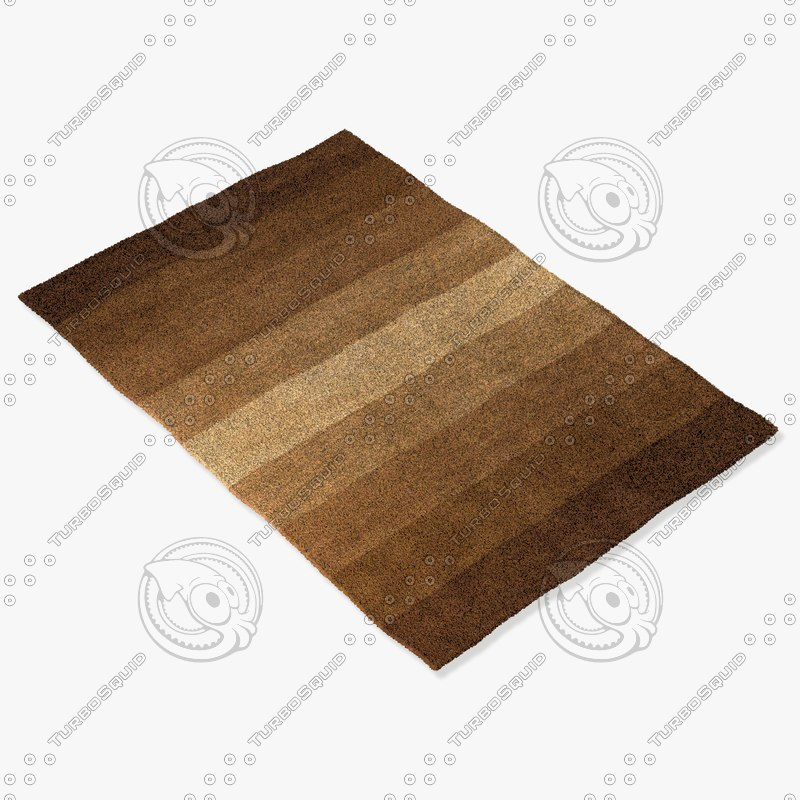 chandra rugs met-564 3d model