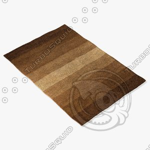 chandra rugs met-564 3d model