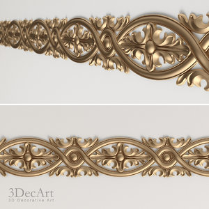 3d carved molding