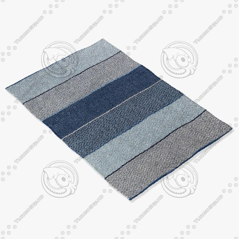 chandra rugs sie-32401 3d max