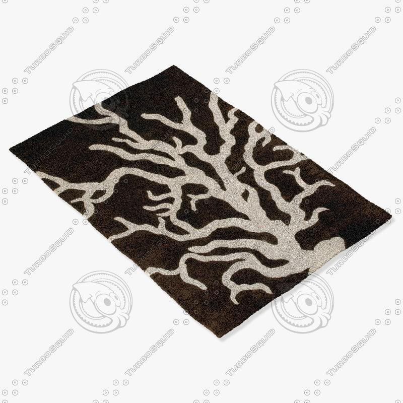 chandra rugs t-cbc 3d model