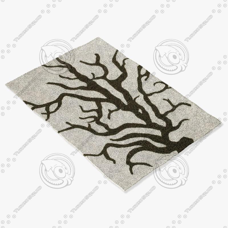 chandra rugs t-cdcb 3ds