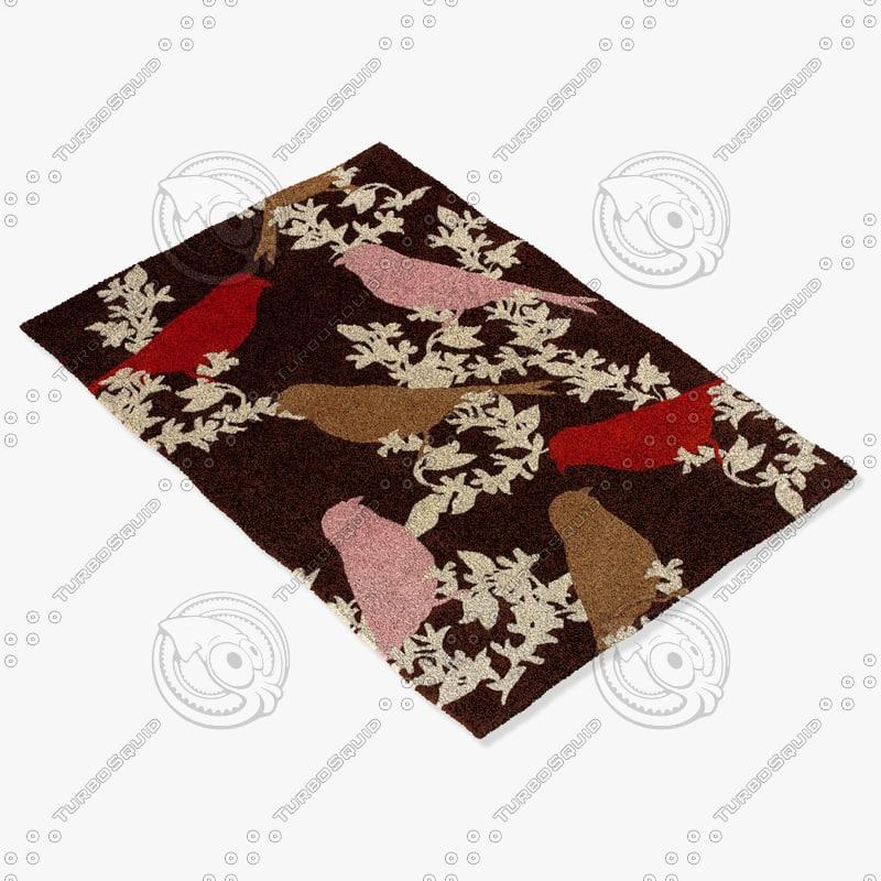 chandra rugs t-gctp 3d model