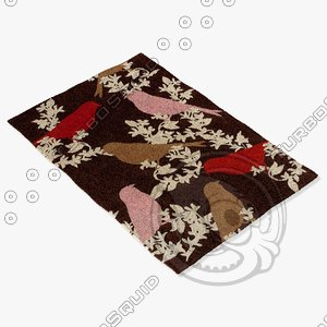 chandra rugs t-gctp 3d model