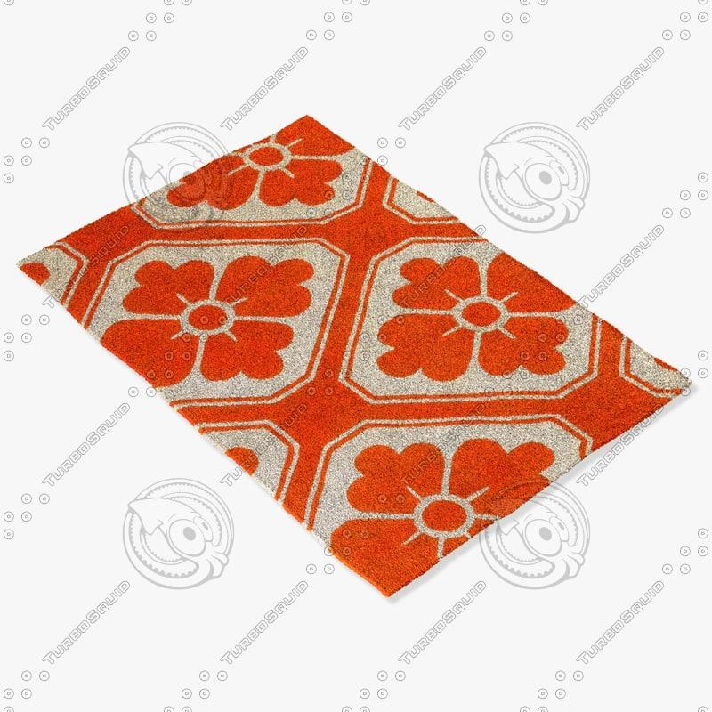 chandra rugs t-obpc 3d max