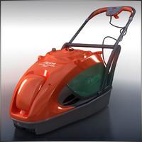 3d model of mower glide master