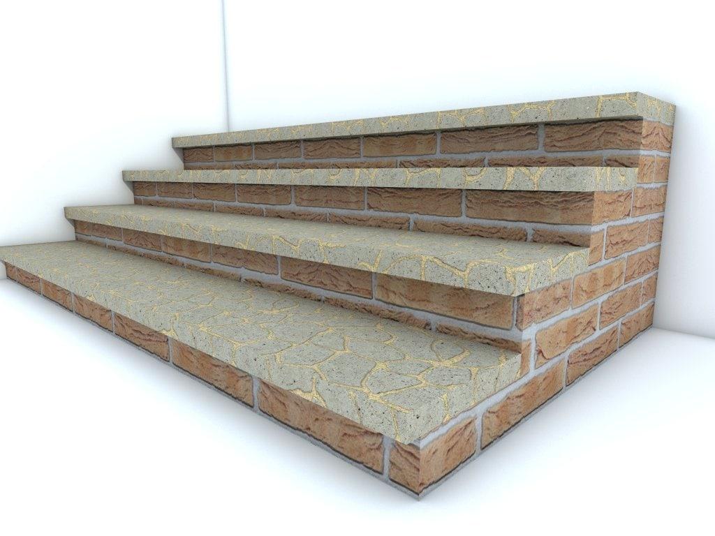 brick stairs 3ds