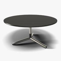 Round Table (Black & Steel)