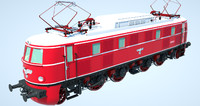 3d electric locomotives model