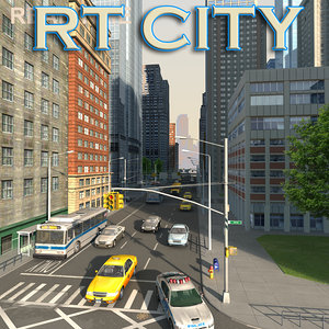 city building 3d 3ds