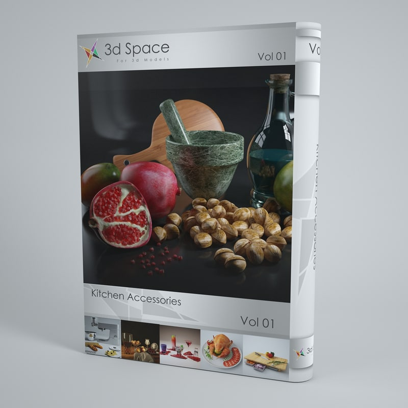 3d model food kitchen slice