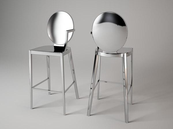 bar chair warendorf 3d model