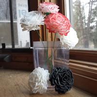 carnation blossom printing 3d max