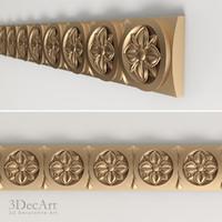 carved frieze 3d model