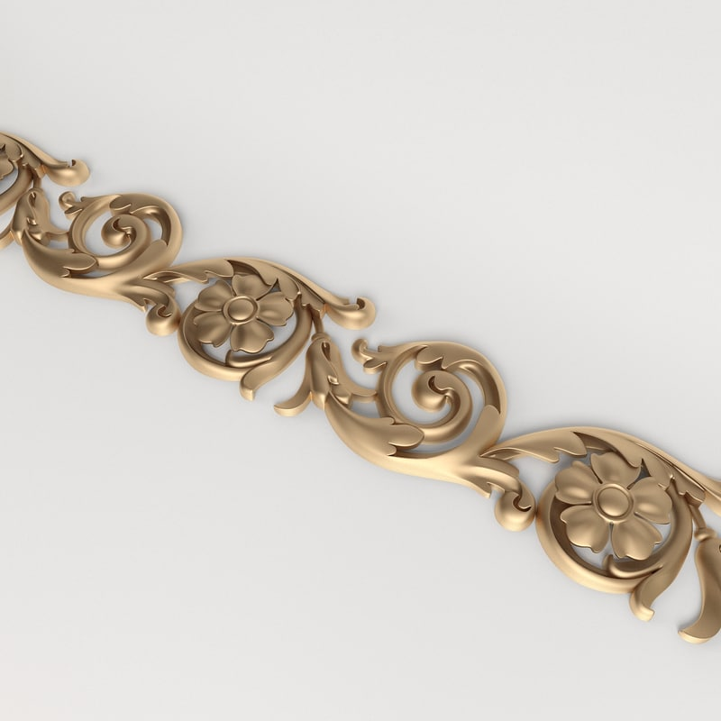 Decorative carved molding | Bg_018