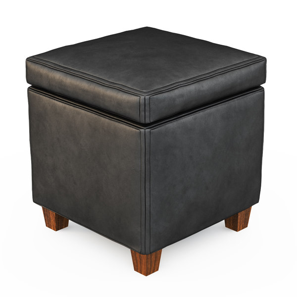 cubes ottoman black max free