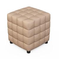 free max mode izzo stone cube ottoman
