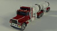 3d model of tanker