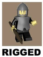 LEGO Spearman Character (rigged)
