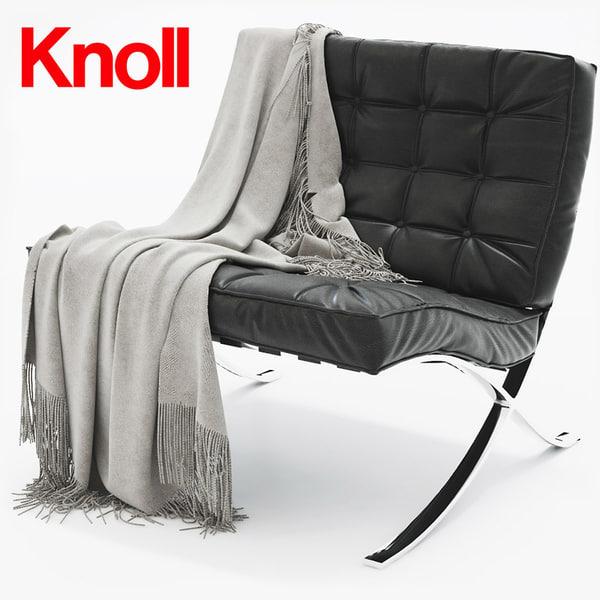barcelona chair model