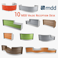 MDD Valde 10 Reception Desk