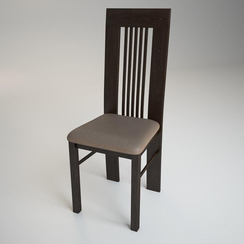 chair amarena 3d model
