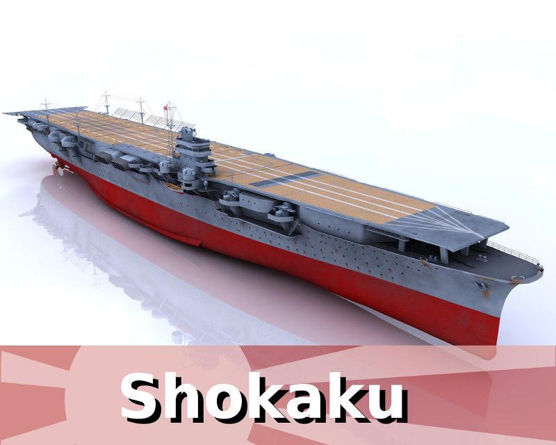 3d shokaku model