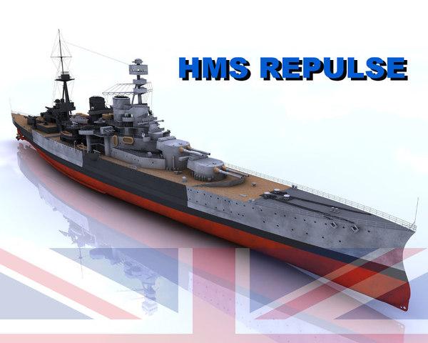 navy battle ship 3d model