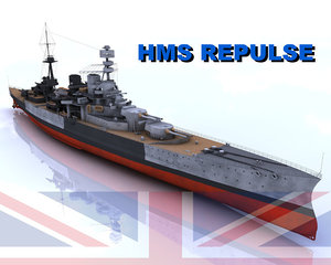 navy battle ship 3d model