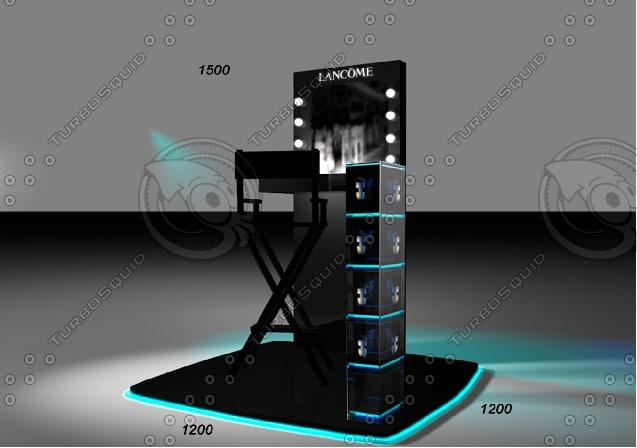 table lancome 3d 3ds