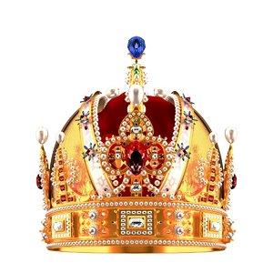 max realistic royal crown