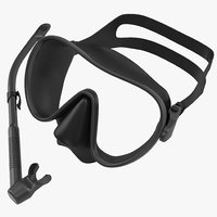 Scuba Mask and Snorkel