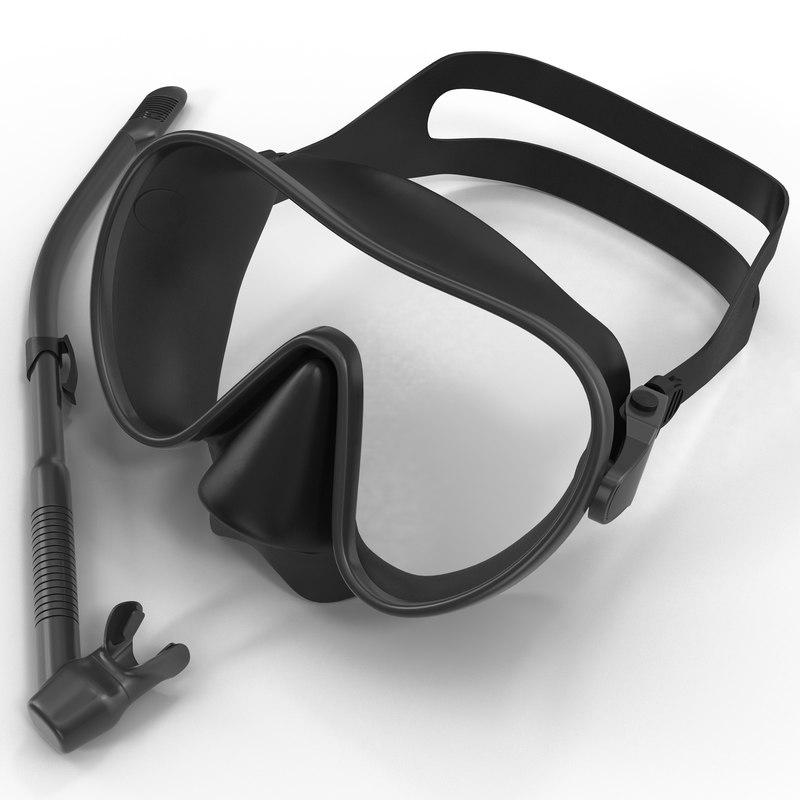 max scuba mask snorkel