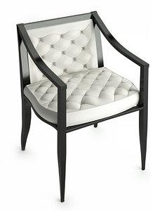 3d model versace armchair chair