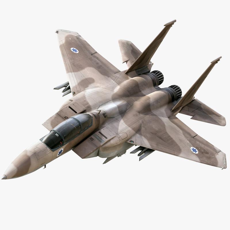 strike eagle 3d model
