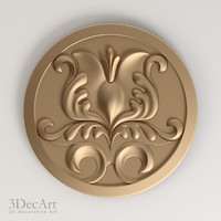 free max model decorative rosettes