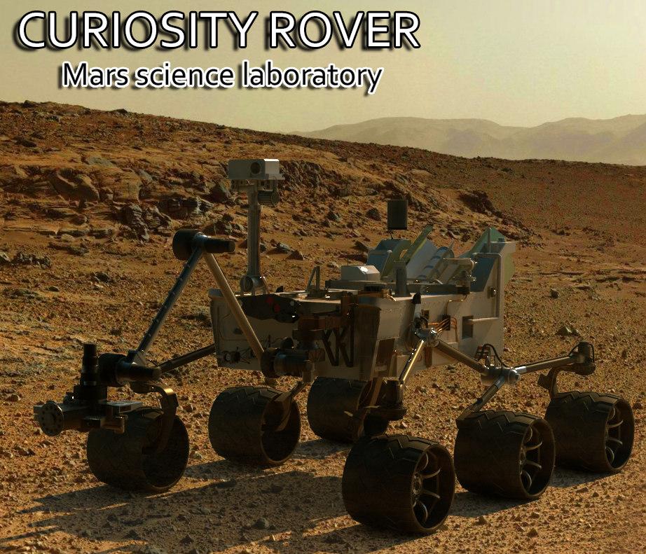 curiosity mars rover max