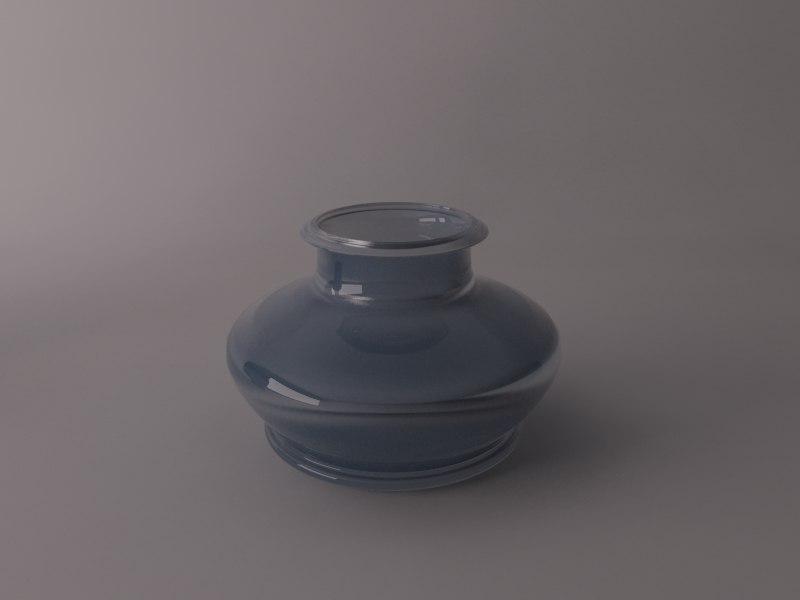 glass jar 3d max