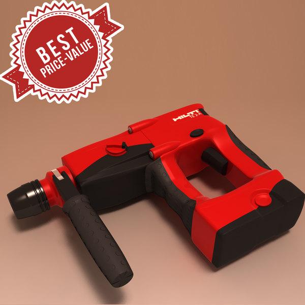 max battery drill hilti te2a