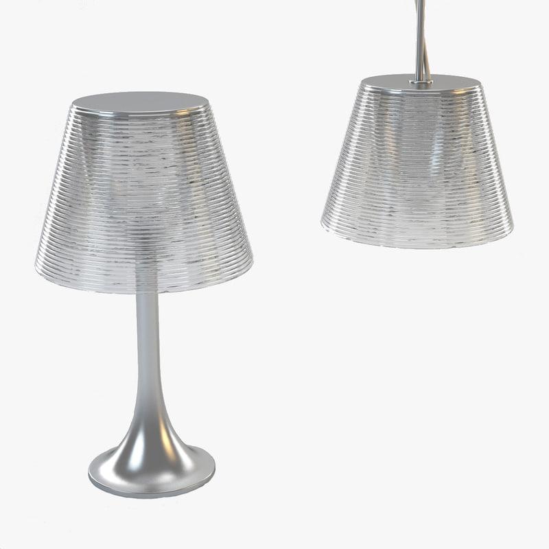 flos ktribe lamp 3d model