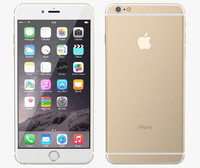 3d apple iphone 6 gold