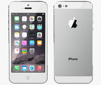 Apple iPhone 5 White Silver