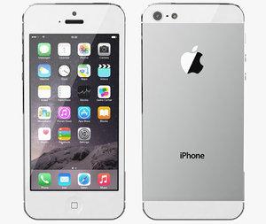 3d apple iphone 5