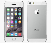 apple iphone 5s silver 3d max